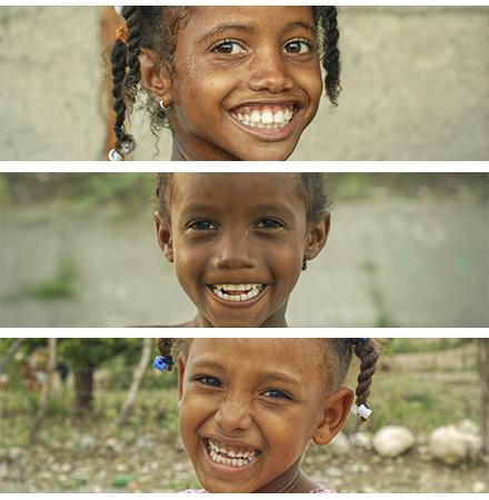 Sonriendo en Sabana Yegua, Azua