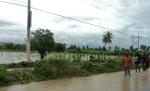 Parcelas después del ciclón Sandy. Sabana Yegua, República Dominicana.
