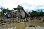 Casa destrozada por el ciclón Sandy. Sabana Yegua, República Dominicana.