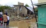 Casa destrozada tras el ciclón Sandy. Sabana Yegua, República Dominicana.
