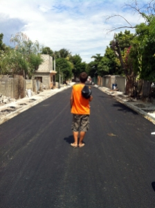 Ori y su calle